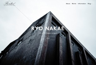 Border / RYO NAKAE, Web Designer