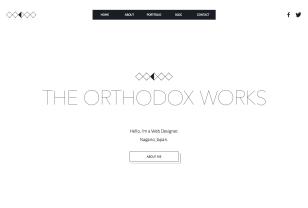 THE ORTHODOX WORKS | Graphic and Web Designer NAGANO JAPAN