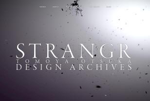 STRANGR | TOMOYA OTSUKA DESIGN ARCHIVES