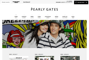 PEARLY GATES パーリーゲイツ オフィシャルサイト