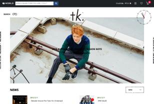 tk.TAKEO KIKUCHI(ティーケー タケオキクチ)公式通販サイト|株式会社ワールド(WORLD)