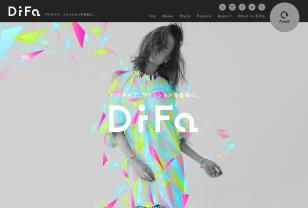 デジタルテクノロジー×ファッション | DiFa
