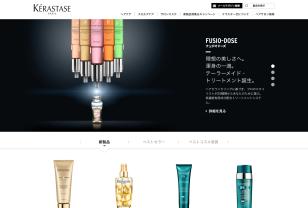 ケラスターゼ公式サイト KÉRASTASE PARIS