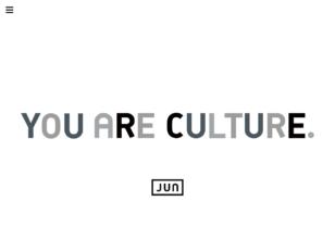 YOU ARE CULTURE.JUN