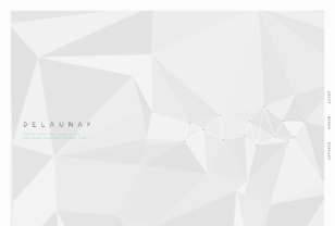 DELAUNAY – Web construction unit based in Tokyo.